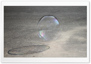 Bubble with Shadow HD Wide Wallpaper for Widescreen