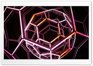 Buckyball HD Wide Wallpaper for 4K UHD Widescreen desktop & smartphone