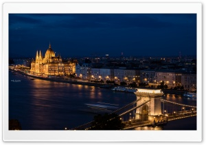 Budapest All Day All Night Ultra HD Wallpaper for 4K UHD Widescreen desktop, tablet & smartphone
