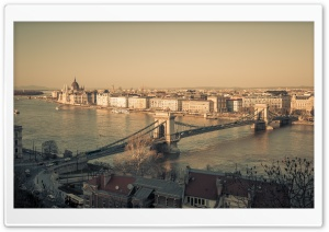 Budapest City View Ultra HD Wallpaper for 4K UHD Widescreen desktop, tablet & smartphone