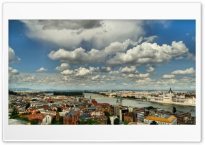 Budapest Cityscape HD Wide Wallpaper for Widescreen