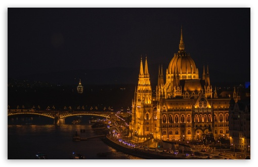 Download Budapest Night Photography UltraHD Wallpaper