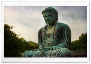 Buddha Statue HD Wide Wallpaper for Widescreen