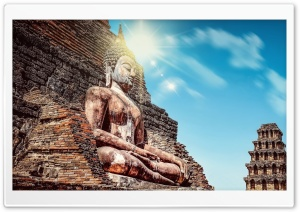 Buddha Statue Ultra HD Wallpaper for 4K UHD Widescreen desktop, tablet & smartphone