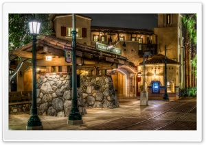 Buena Vista Street - Disneyland, California HD Wide Wallpaper for Widescreen