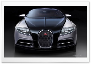 Bugatti 16C Galibier Concept - Artwork HD Wide Wallpaper for Widescreen