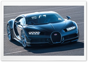 Bugatti Chiron HD Wide Wallpaper for Widescreen
