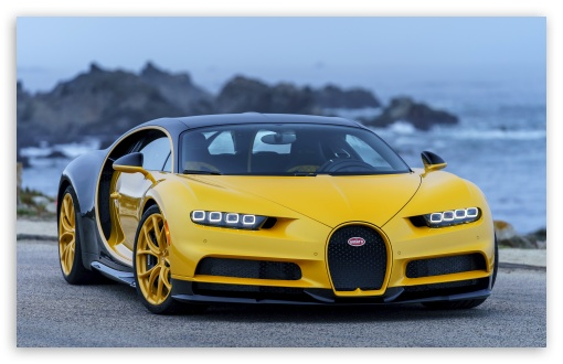 Bugatti Cars Wallpapers 1080p Bugatti Iphone Wallpaper Hd: Bugatti Chiron 2018 Yellow 4K HD Desktop Wallpaper For 4K