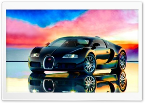 Bugatti Flamboyant HD Wide Wallpaper for Widescreen