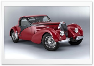 Bugatti Type 57 Atalante 1938 Ultra HD Wallpaper for 4K UHD Widescreen desktop, tablet & smartphone