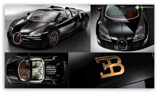 Bugatti Veyron Black Bess ❤ 4K UHD Wallpaper for 4K UHD 16:9 Ultra High Definition 2160p 1440p 1080p 900p 720p ;