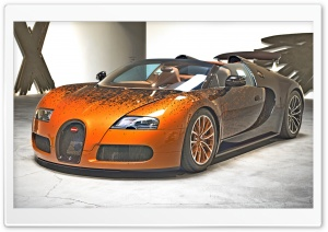 Bugatti Veyron Grand Sport HD Wide Wallpaper for Widescreen