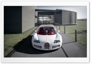 Bugatti Veyron Grand Sport Vitesse HD Wide Wallpaper for Widescreen