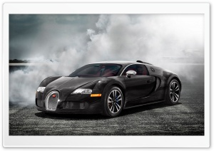 Bugatti Veyron Sang Noir HD Wide Wallpaper for Widescreen