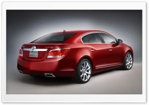 Buick LaCrosse 1 HD Wide Wallpaper for Widescreen