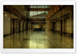 Building Lobby HD Wide Wallpaper for Widescreen