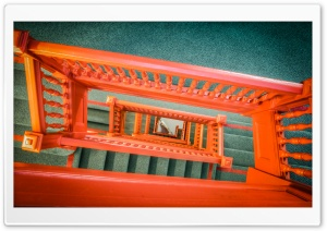 Building Stairs HD Wide Wallpaper for Widescreen