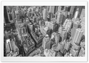 Buildings Black and White Ultra HD Wallpaper for 4K UHD Widescreen desktop, tablet & smartphone