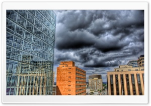 Buildings HDR HD Wide Wallpaper for Widescreen