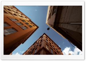 Buildings (Up) HD Wide Wallpaper for Widescreen