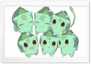 Bulbasaur Pokemon HD Wide Wallpaper for Widescreen
