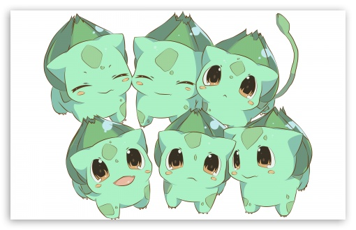 Bulbasaur Pokemon HD wallpaper for Wide 16:10 Widescreen WHXGA WQXGA WUXGA WXGA ; Standard 4:3 3:2 Fullscreen UXGA XGA SVGA DVGA HVGA HQVGA devices ( Apple PowerBook G4 iPhone 4 3G 3GS iPod Touch ) ; iPad 1/2/Mini ; Mobile 4:3 3:2 - UXGA XGA SVGA DVGA HVGA HQVGA devices ( Apple PowerBook G4 iPhone 4 3G 3GS iPod Touch ) ;