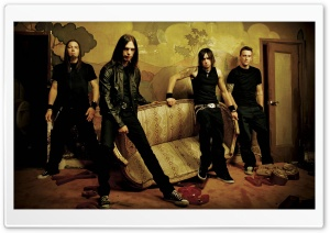 Bullet For My Valentine HD Wide Wallpaper for Widescreen