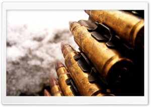 Bullets HD Wide Wallpaper for Widescreen
