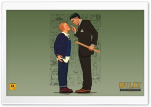 Bully Scholarship Edition Jimmy vs Crabblesnitch HD Wide Wallpaper for Widescreen