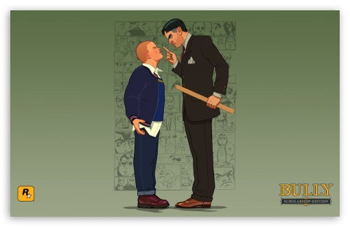 Bully Scholarship Edition Jimmy vs Crabblesnitch HD wallpaper for Wide 16:10 5:3 Widescreen WHXGA WQXGA WUXGA WXGA WGA ; HD 16:9 High Definition WQHD QWXGA 1080p 900p 720p QHD nHD ; Standard 4:3 5:4 3:2 Fullscreen UXGA XGA SVGA QSXGA SXGA DVGA HVGA HQVGA devices ( Apple PowerBook G4 iPhone 4 3G 3GS iPod Touch ) ; iPad 1/2/Mini ; Mobile 4:3 5:3 3:2 16:9 5:4 - UXGA XGA SVGA WGA DVGA HVGA HQVGA devices ( Apple PowerBook G4 iPhone 4 3G 3GS iPod Touch ) WQHD QWXGA 1080p 900p 720p QHD nHD QSXGA SXGA ;