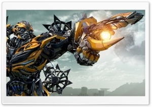 Bumblebee Transformers Age Of Extinction HD Wide Wallpaper for 4K UHD Widescreen desktop & smartphone