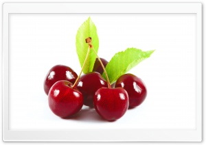 Bunch of Cherries HD Wide Wallpaper for Widescreen