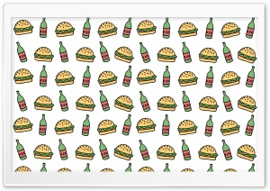 Burgers N Beers HD Wide Wallpaper for Widescreen