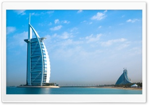 Burj Al Arab Dubai HD Wide Wallpaper for 4K UHD Widescreen desktop & smartphone
