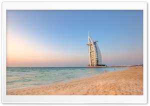 Burj Al Arab Hotel - Dubai HD Wide Wallpaper for 4K UHD Widescreen desktop & smartphone
