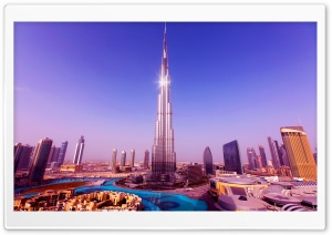 Burj Khalifa HD Wide Wallpaper for 4K UHD Widescreen desktop & smartphone