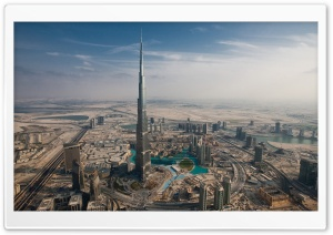 Burj Khalifa, Dubai, United Arab Emirates HD Wide Wallpaper for 4K UHD Widescreen desktop & smartphone