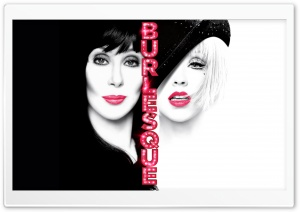 Burlesque - Christina Aguilera & Cher HD Wide Wallpaper for Widescreen