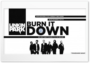 Burn It Down - Linkin Park HD Wide Wallpaper for 4K UHD Widescreen desktop & smartphone