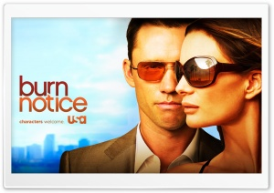 Burn Notice HD Wide Wallpaper for Widescreen