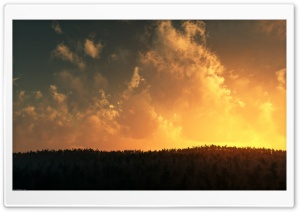 Burn Sky HD Wide Wallpaper for Widescreen