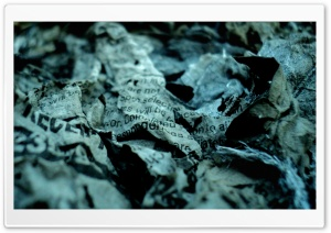 Burned Pages HD Wide Wallpaper for Widescreen