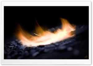 Burning Fire HD Wide Wallpaper for Widescreen