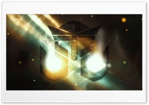 Burning Logo Noxxrogg Desktop Version Ultra HD Wallpaper for 4K UHD Widescreen desktop, tablet & smartphone