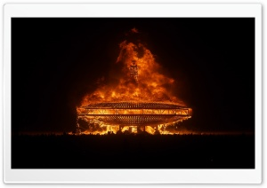 Burning Man HD Wide Wallpaper for Widescreen