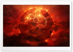 Burning Sun HD Wide Wallpaper for Widescreen
