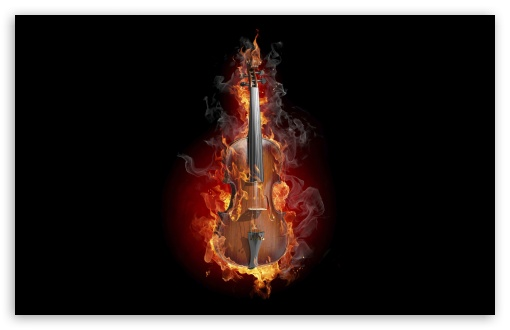 Burning Violin HD wallpaper for Wide 16:10 5:3 Widescreen WHXGA WQXGA WUXGA WXGA WGA ; HD 16:9 High Definition WQHD QWXGA 1080p 900p 720p QHD nHD ; UHD 16:9 WQHD QWXGA 1080p 900p 720p QHD nHD ; Standard 4:3 5:4 Fullscreen UXGA XGA SVGA QSXGA SXGA ; MS 3:2 DVGA HVGA HQVGA devices ( Apple PowerBook G4 iPhone 4 3G 3GS iPod Touch ) ; Mobile VGA WVGA iPhone iPad PSP Phone - VGA QVGA Smartphone ( PocketPC GPS iPod Zune BlackBerry HTC Samsung LG Nokia Eten Asus ) WVGA WQVGA Smartphone ( HTC Samsung Sony Ericsson LG Vertu MIO ) HVGA Smartphone ( Apple iPhone iPod BlackBerry HTC Samsung Nokia ) Sony PSP Zune HD Zen ; Tablet 1&2 Android Retina ;