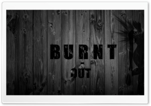 Burnt Out HD Wide Wallpaper for Widescreen