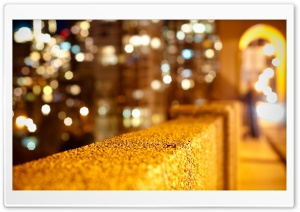 Burrard Bridge Bokeh HD Wide Wallpaper for Widescreen