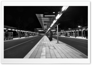 Bus Station HD Wide Wallpaper for Widescreen